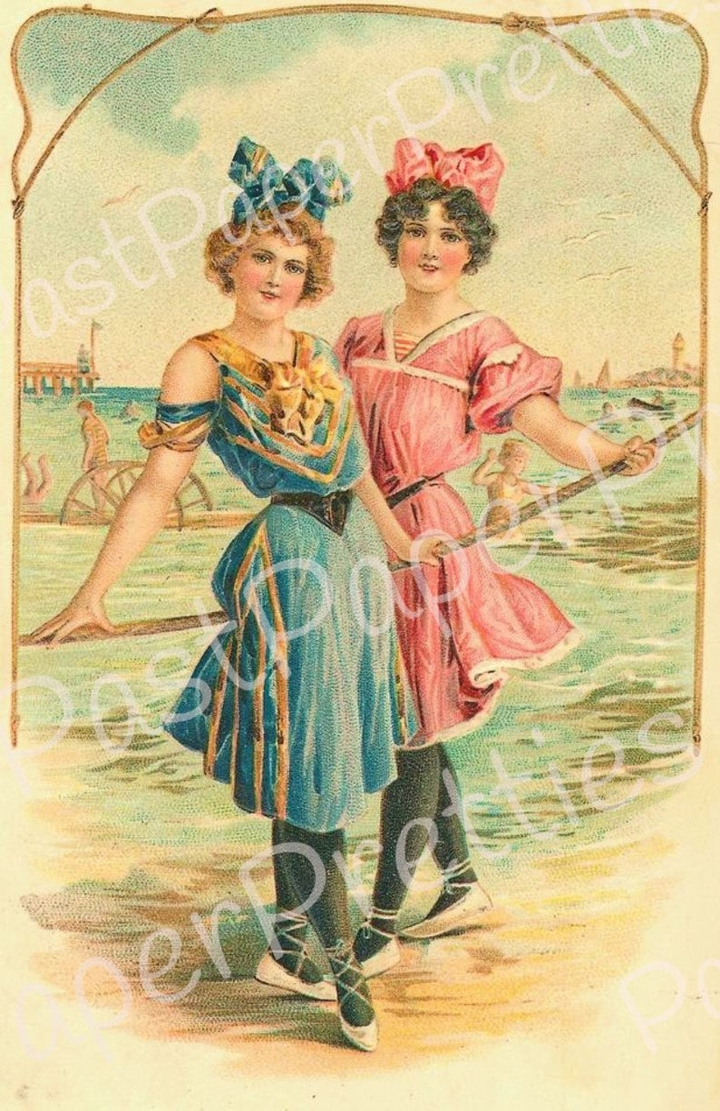 Pin by Dawn Holladay on Vintage Bathing Beauties | Beach