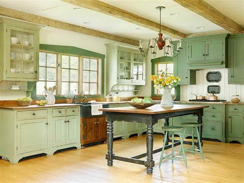 Green Kitchen Cabinets vintage kitchen cabinets | the captivating picture above, is part