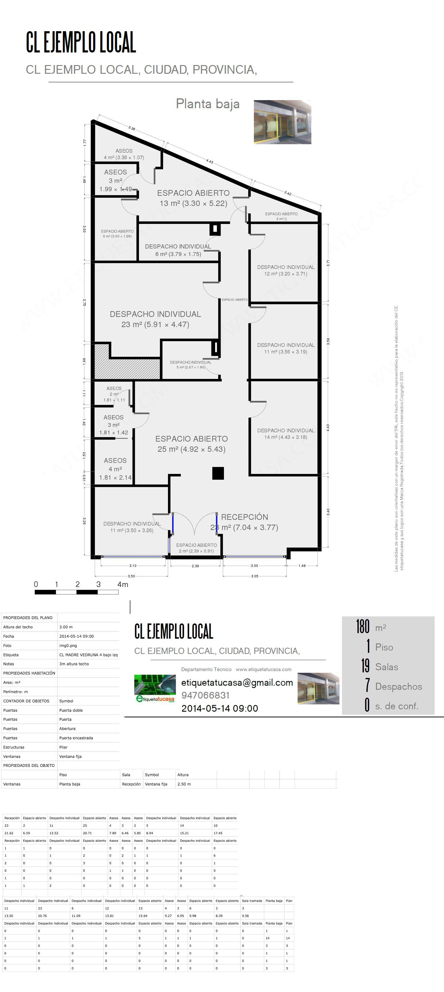 plano de local comercial ejemplo | Casas | Pinterest