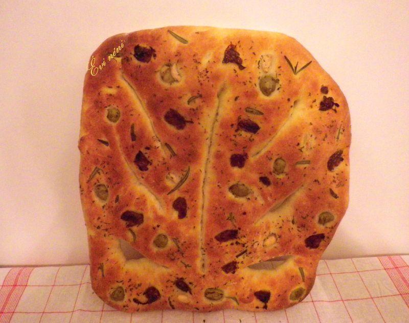 Lorainne Pascale - Fougasse (levél alakú kenyér)