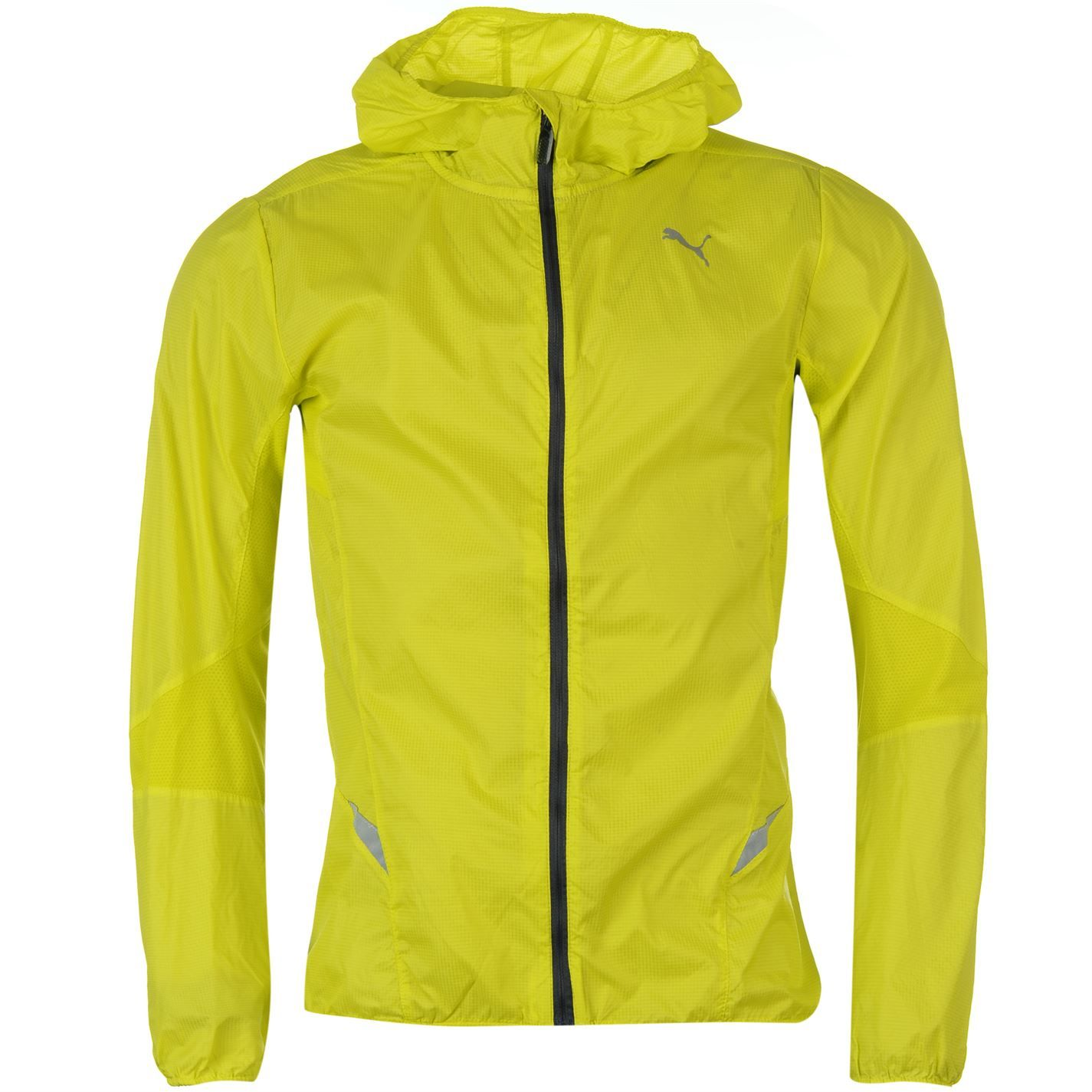 Puma Lightweight Hooded Mens Running Jacket - Yellow - Google Search