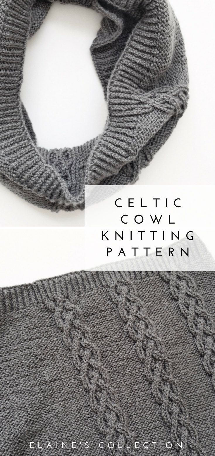 Infinity Scarf Knitting Patterns for Women Printable PDF Instant ...