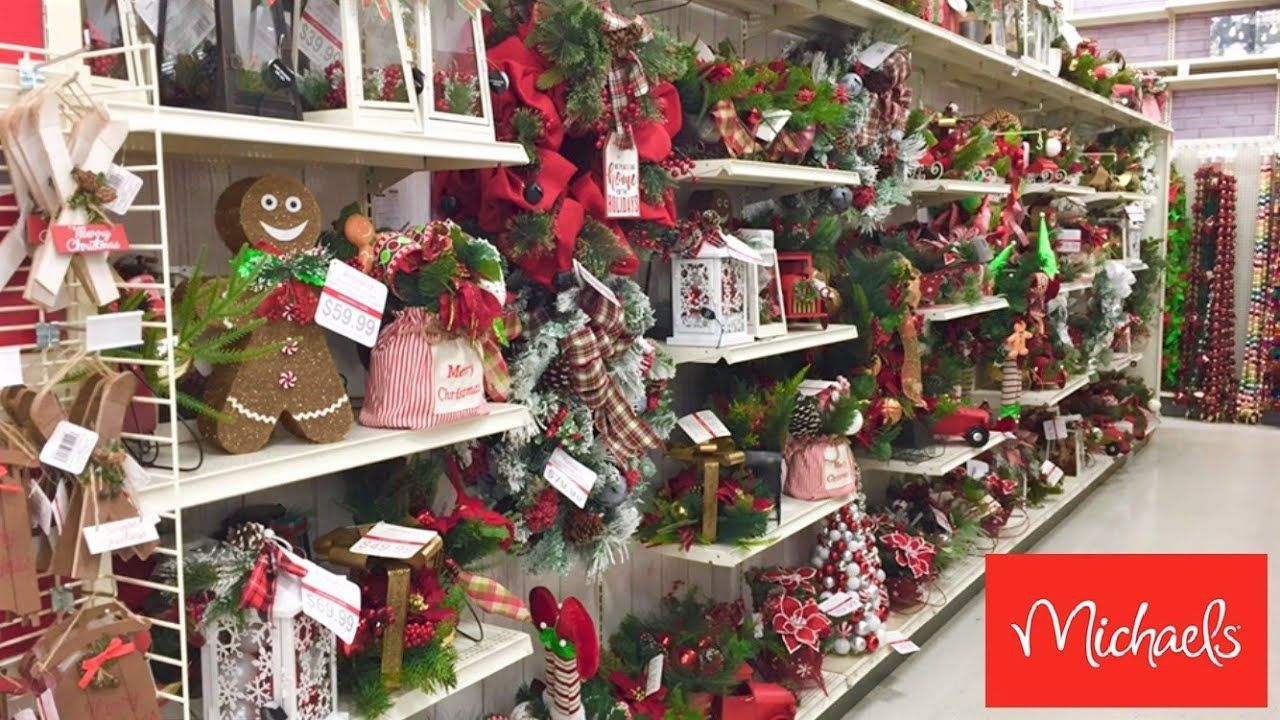 Michael S Christmas Decorations Christmas Decor Ornaments Shop With Me Shopping Store Wa In 2020 Michaels Christmas Decorations Christmas Decorations Michael Christmas