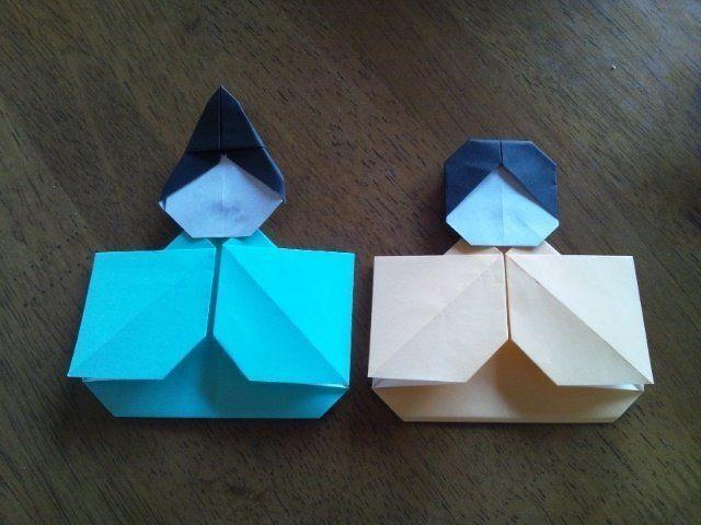ハート 折り紙 ひな祭り折り紙簡単 : jp.pinterest.com