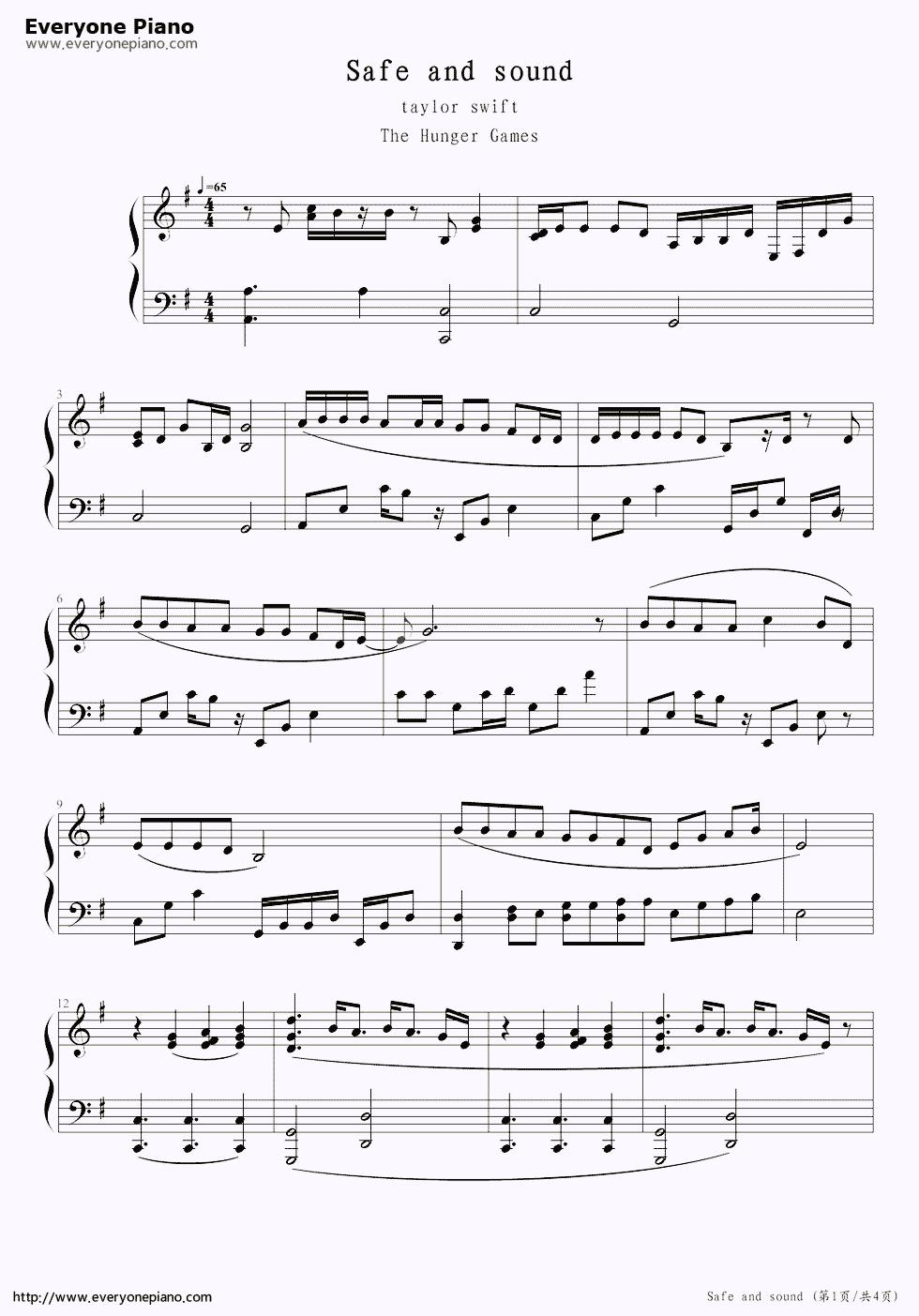 sound to sheet music