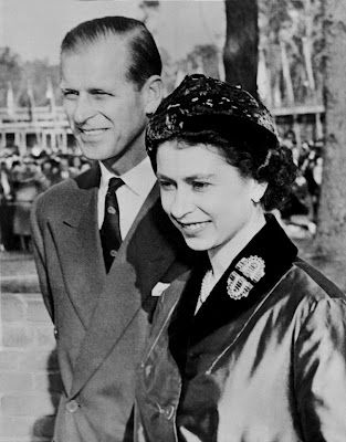 Queen Elizabeth and Prince Phillip ... 66 years of ...