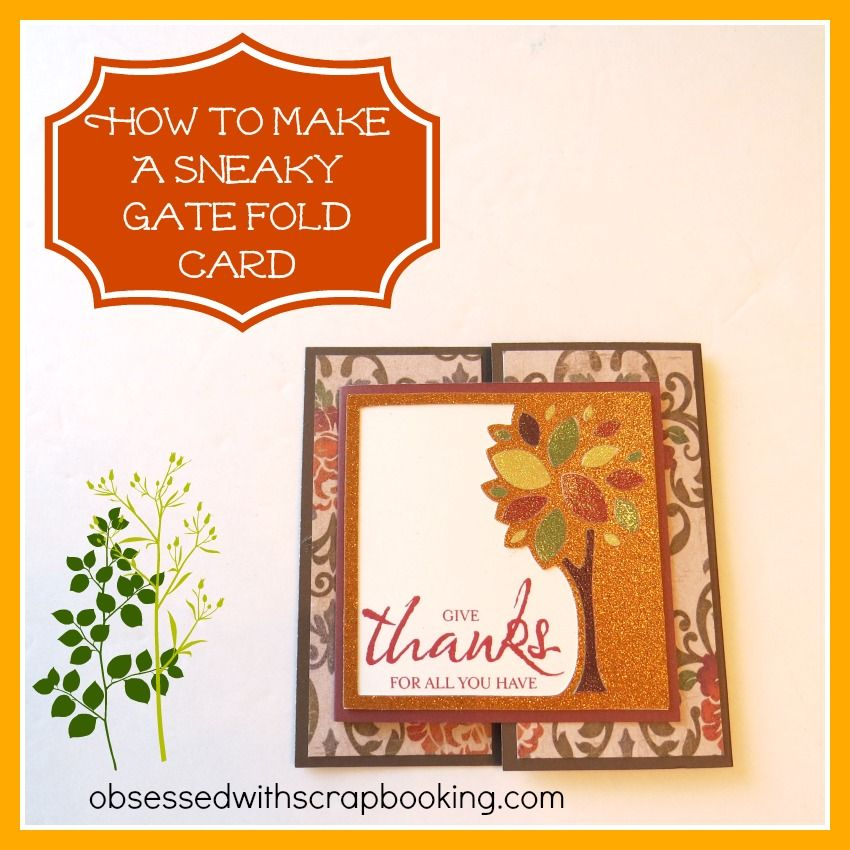 Obsessed With Scrapbooking Videohow To Make A Fun Artbooking Gate