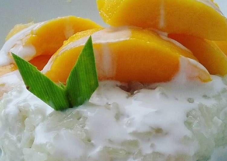 Resep Mango Sticky Rice Magic Com Oleh Intani Quarta Resep Cemilan Mango Resep