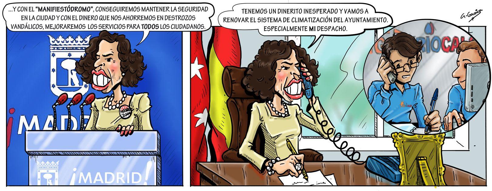 Ana Botella anuncia... ¿El manifiestódromo?