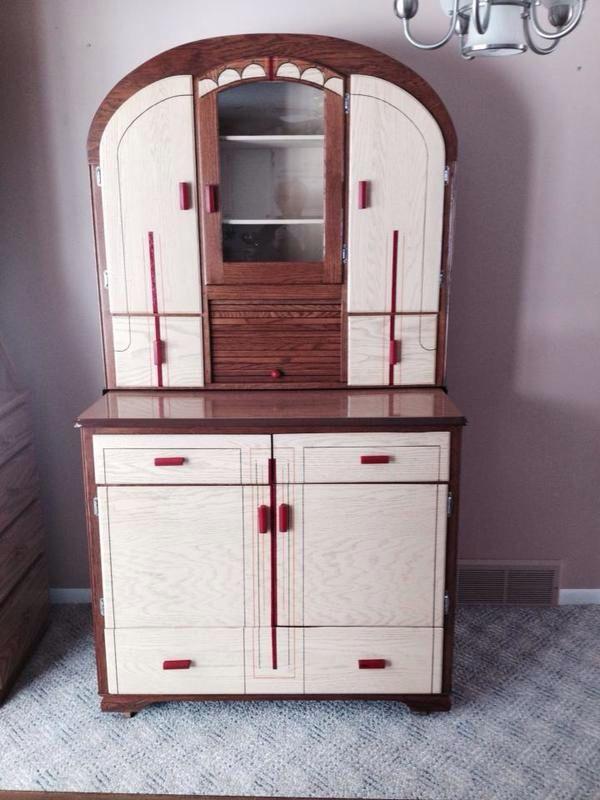 1940s Art Deco Style Cupboard Art Deco Furniture Art Deco Interior Art Deco Decor