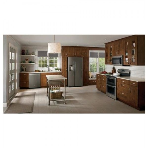 """Country Kitchen Appliances: GE Slate 30"""" Free-Standing"""