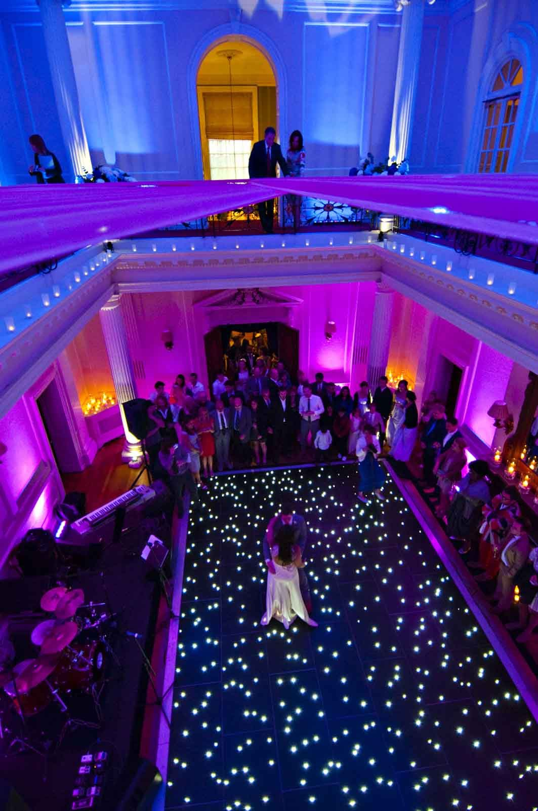 Hedsor house Buckinghamshire dance floor Dance floor