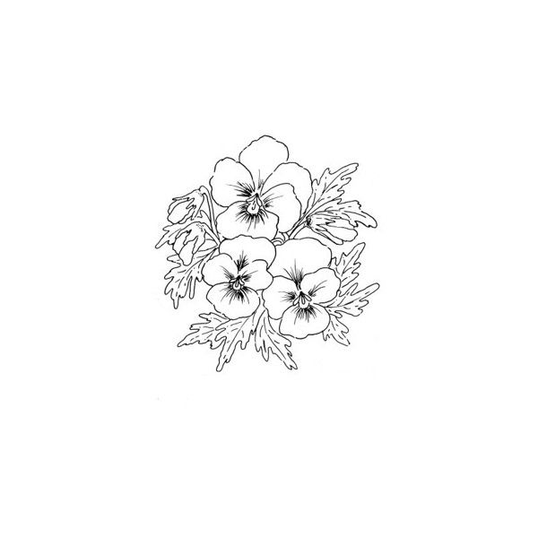 Stamp Makers Com Catalog Flowers Liked On Polyvore Featuring Fillers Drawings Doodles Flowers Art Backgro Stamp Maker Botanical Tattoo Flower Drawing