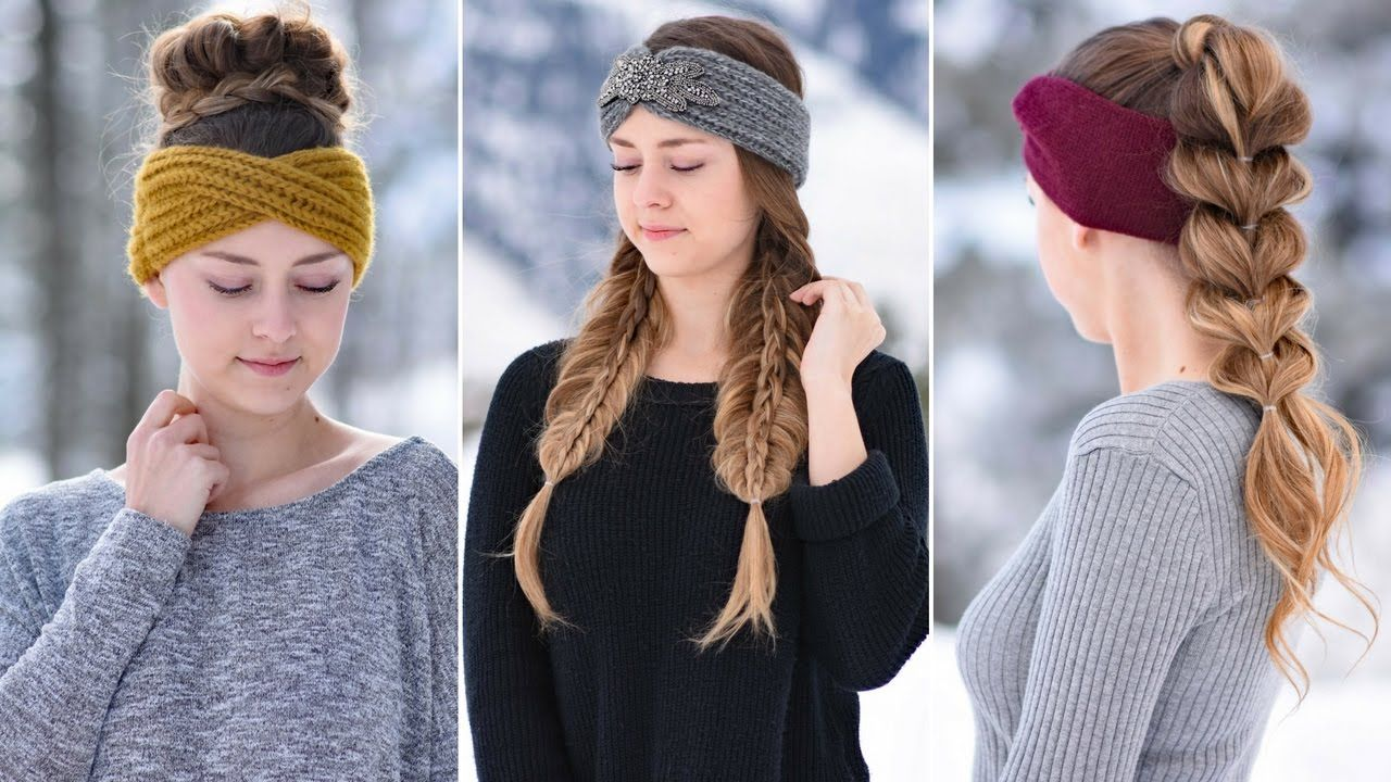easy headband hairstyles cute girls hairstyles style ears