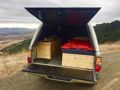 Living in my truck camper shell update car camping pinterest living in my truck camper shell update sciox Choice Image