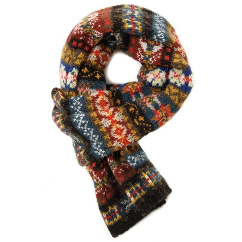 fair isle scarf | Knitting | Pinterest | Fair isles, Scarves and ...