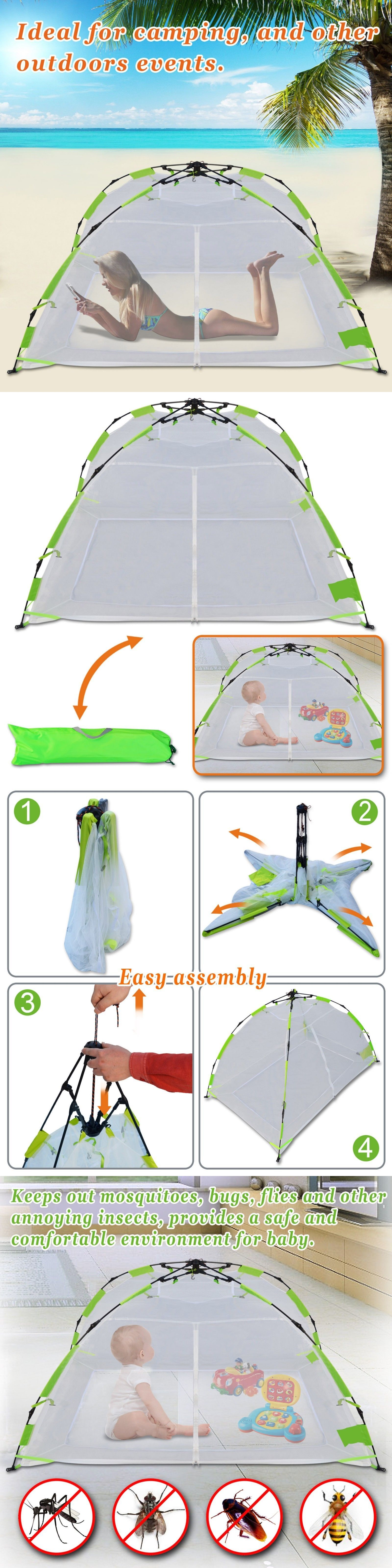 Canopies and Netting 180905 Kid Adult Pet Mosquito Multi-Use Net Pop Up Instant  sc 1 st  Pinterest & Canopies and Netting 180905: Kid Adult Pet Mosquito Multi-Use Net ...