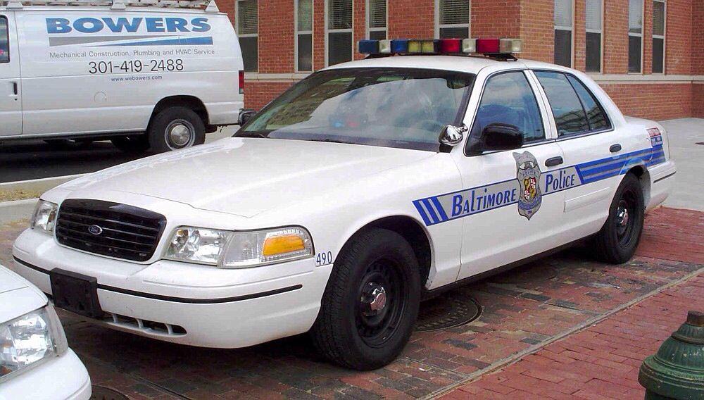 Baltimore City Police Car Police Cars Victoria Police Police