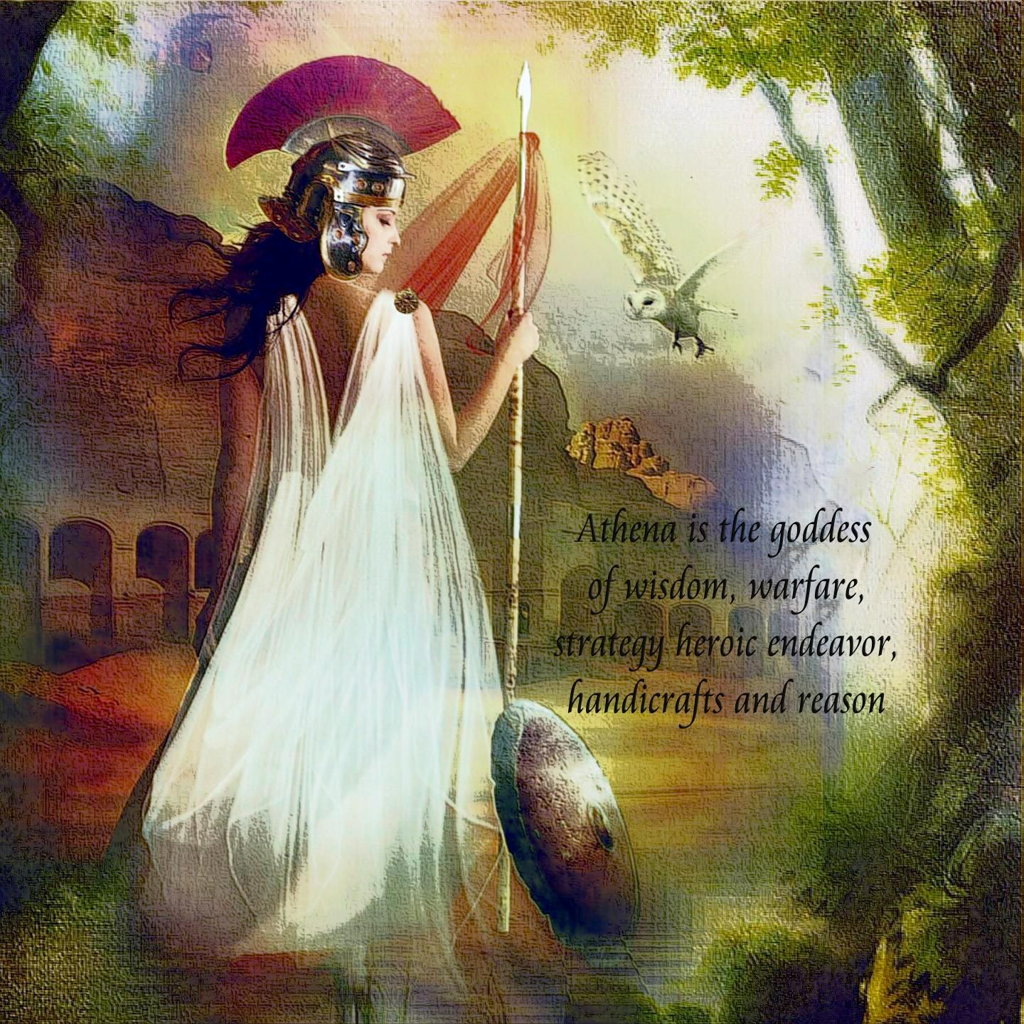 Pics For Greek Goddess Athena Wallpaper Athena Goddess Of Wisdom