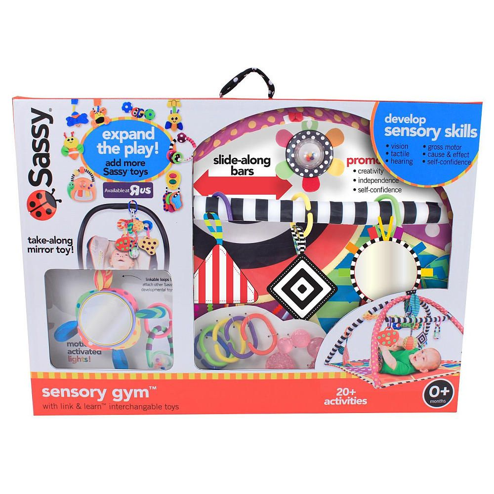 Benefits Musical Toys : Sassy sensory gym available as exclusive only at