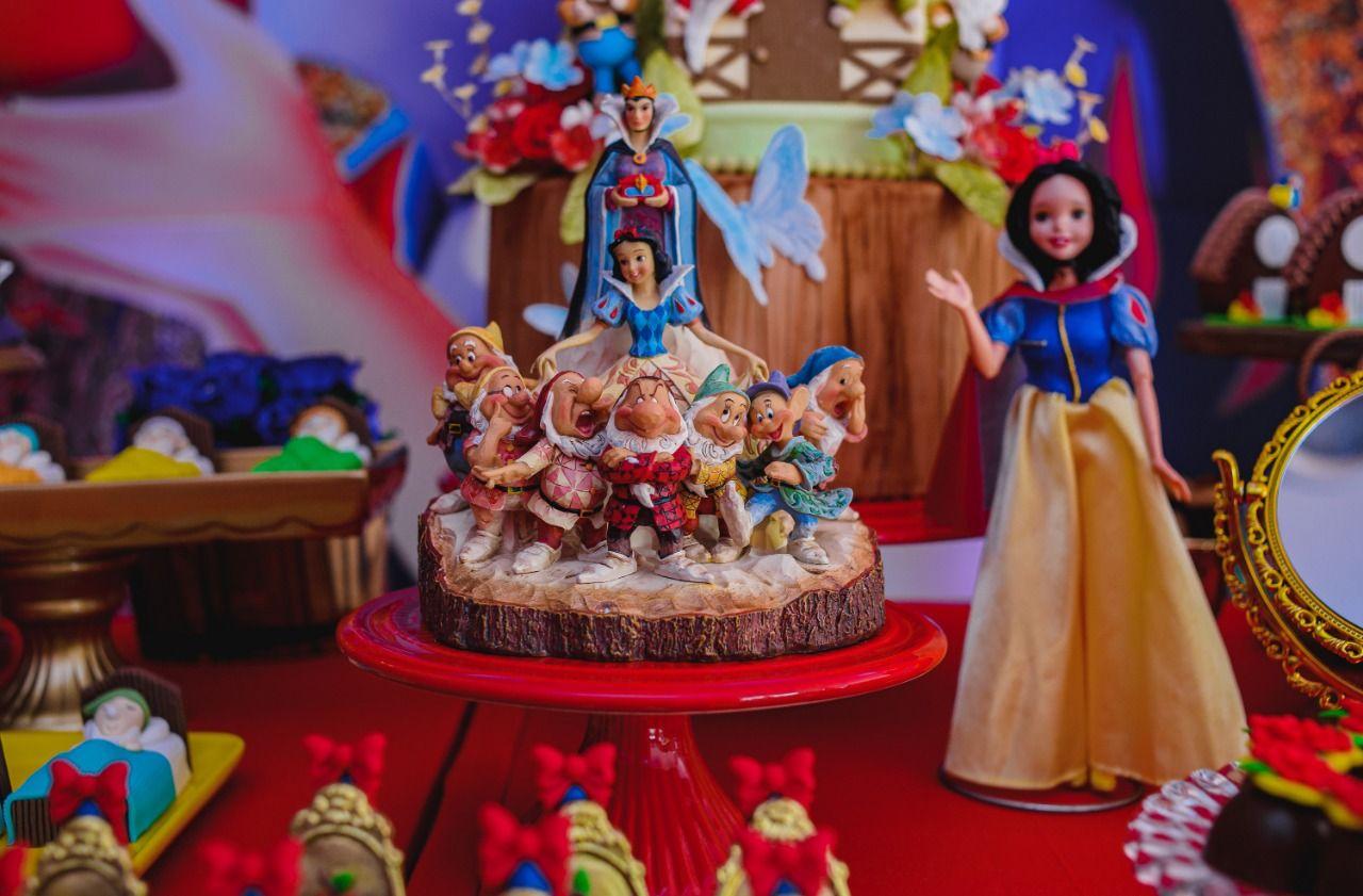 Blog Encontrando Ideias Festa Branca De Neve Festa Festa Branca