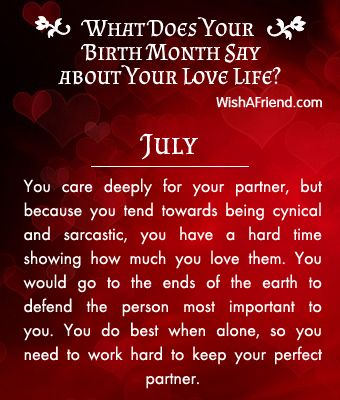 born month horoscope