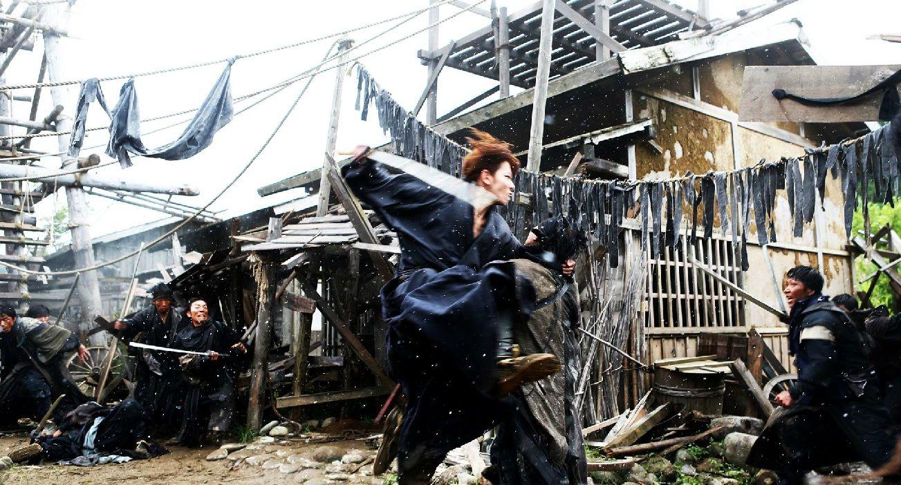 Takeru Sato as Kenshin Himura, Rurouni Kenshin live action
