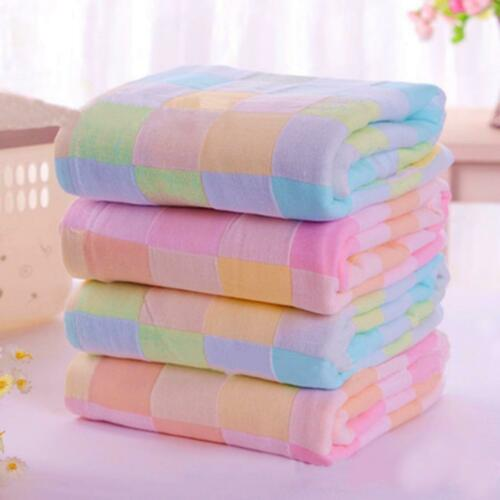 Square Cotton Baby Towels Hand Face Gauze Plaid Bibs Cloth Wipe For Kids 28 28cm Ebay Towels Kids Face Towel Towel