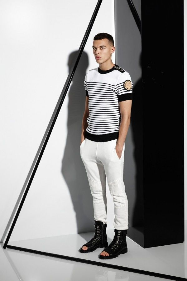 Sailor Boy! BALMAIN SPRING-SUMMER 2015 MENSWEAR FASHION TRENDS thebestfashionblog.com