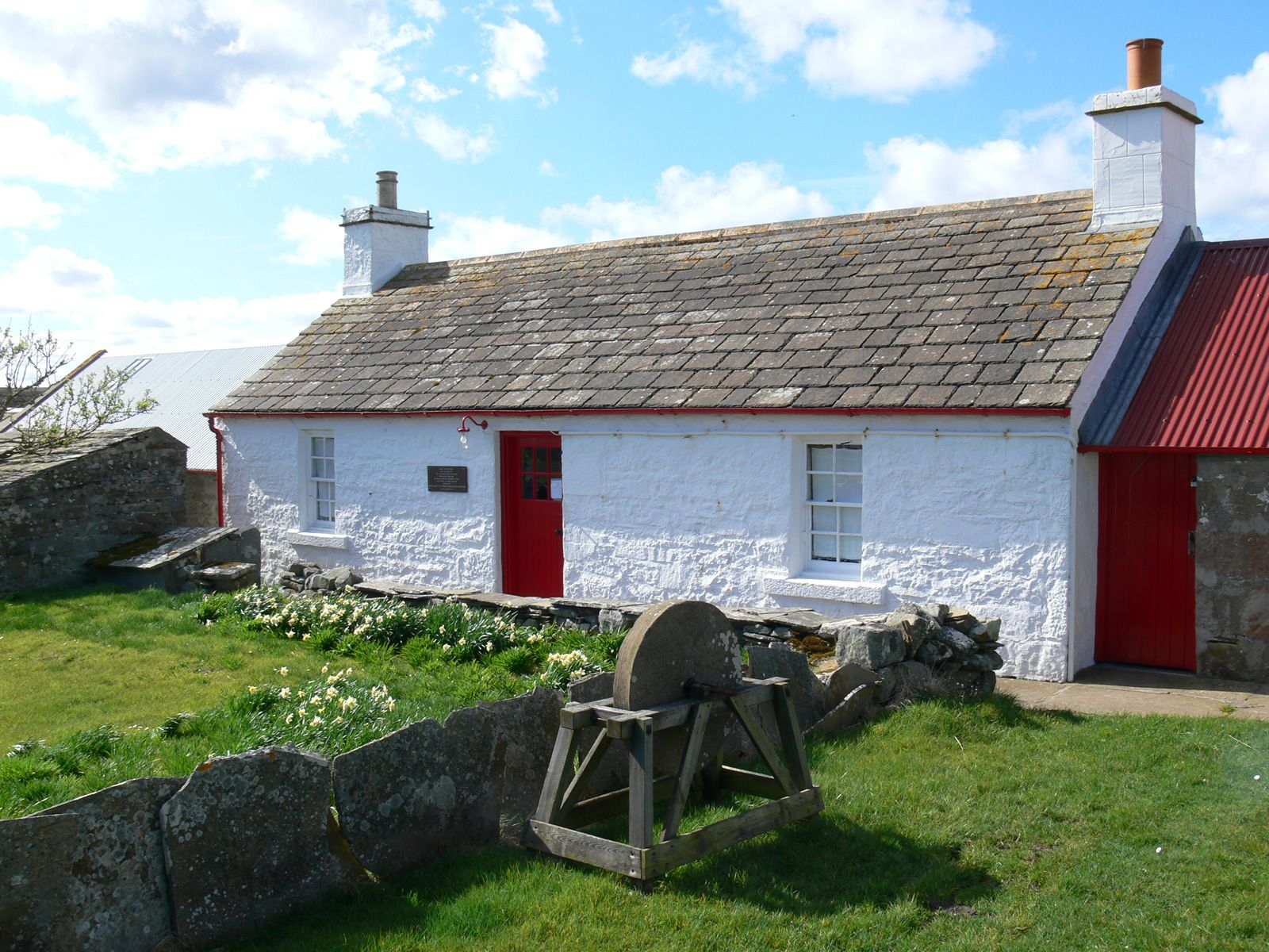 Mary Anns Cottage Caithness Croft Museum In Dunnet Head Highland Scotland