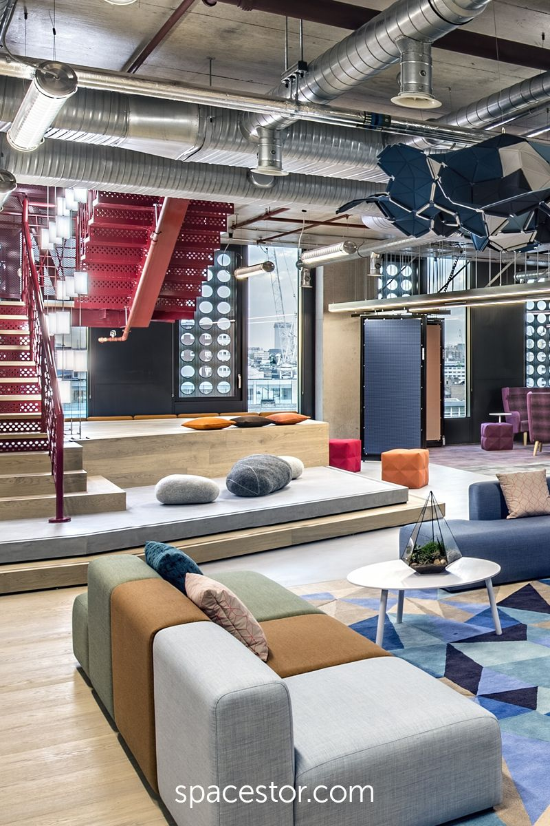 Adobe Worked With Gensler To Create Their New London Headquarters