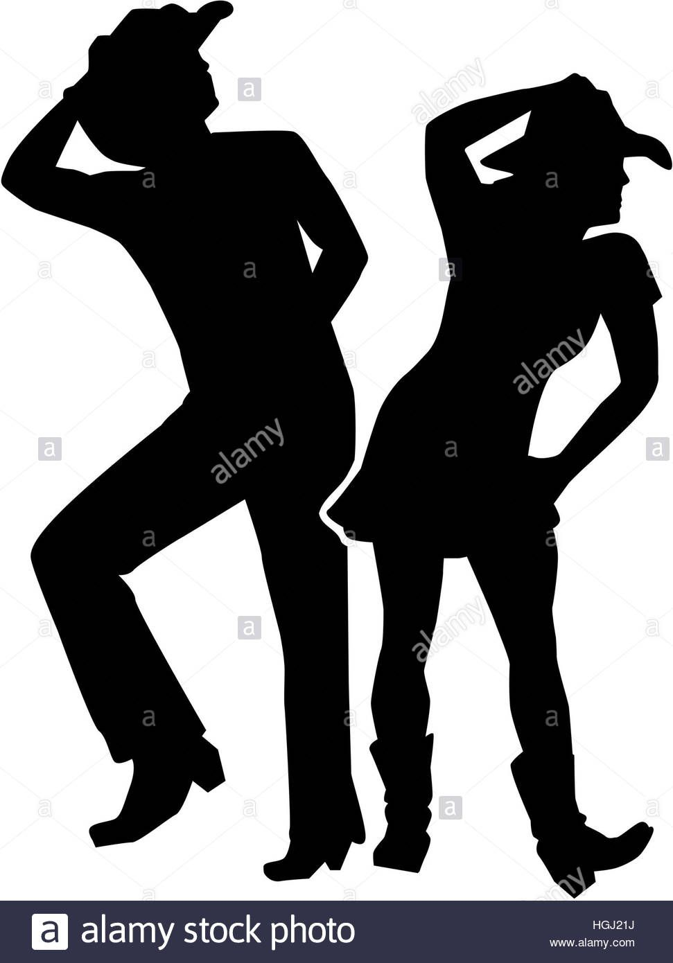 Download This Stock Image Line Dancing Silhouette Man And Woman Hgj21j From Alamy 39 S Library Of Millions Of Silhouette Man Line Dancing Dance Silhouette