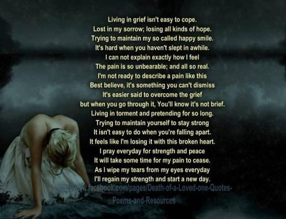 Quotes About Dealing With Death Of A Loved One Grief Poems Cool Coping With Death Quotes