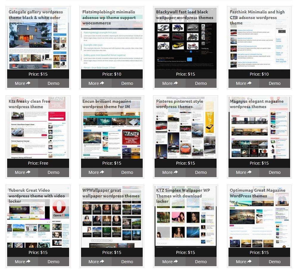 coupon for all wordpress theme from kentooz | products | Pinterest ...
