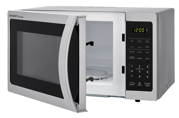 Smc0711bs 0 7 Cu Ft Carousel Microwave With Stainless Steel Finish