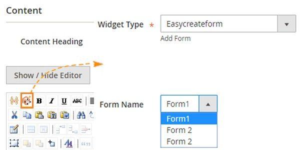 magento 2 web forms