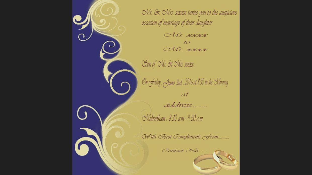 8 Wedding Card Background Photoshop Marriage Invitation Card Wedding Invitation Card Design Invitation Card Format