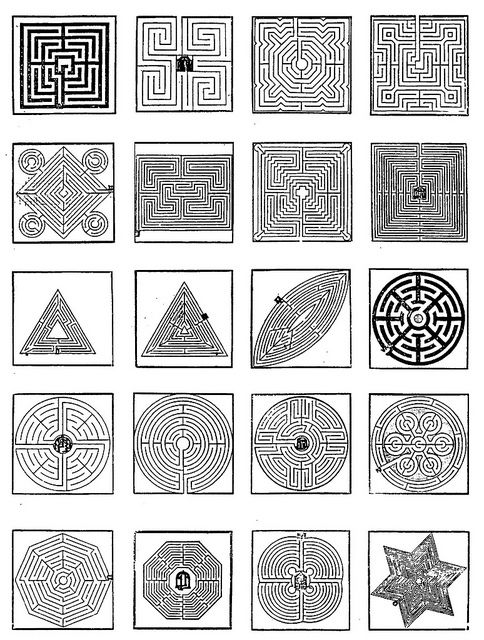 Four343 Designs Of Labyrinth Gardens