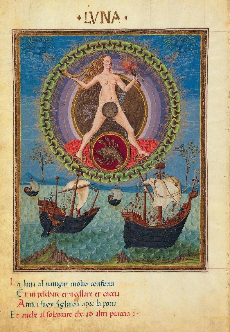 El simbolismo en el siglo XV (códice ilustrado