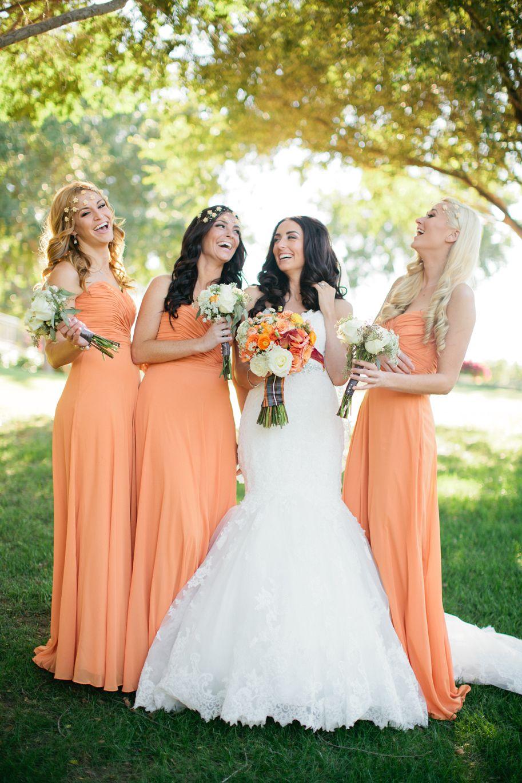 Fall wedding and orange bridesmaid dresses so lovely jennefer fall wedding and orange bridesmaid dresses so lovely jennefer wilson ombrellifo Images