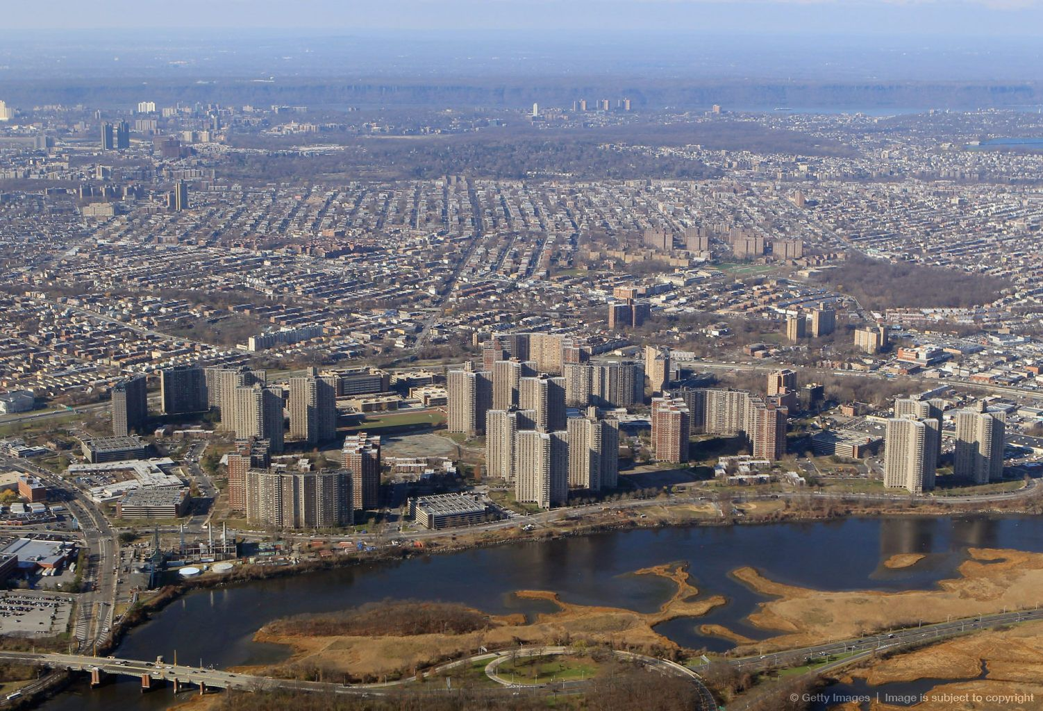 Great Aerial View Of Co Op City Sections 1 4 Bronx New