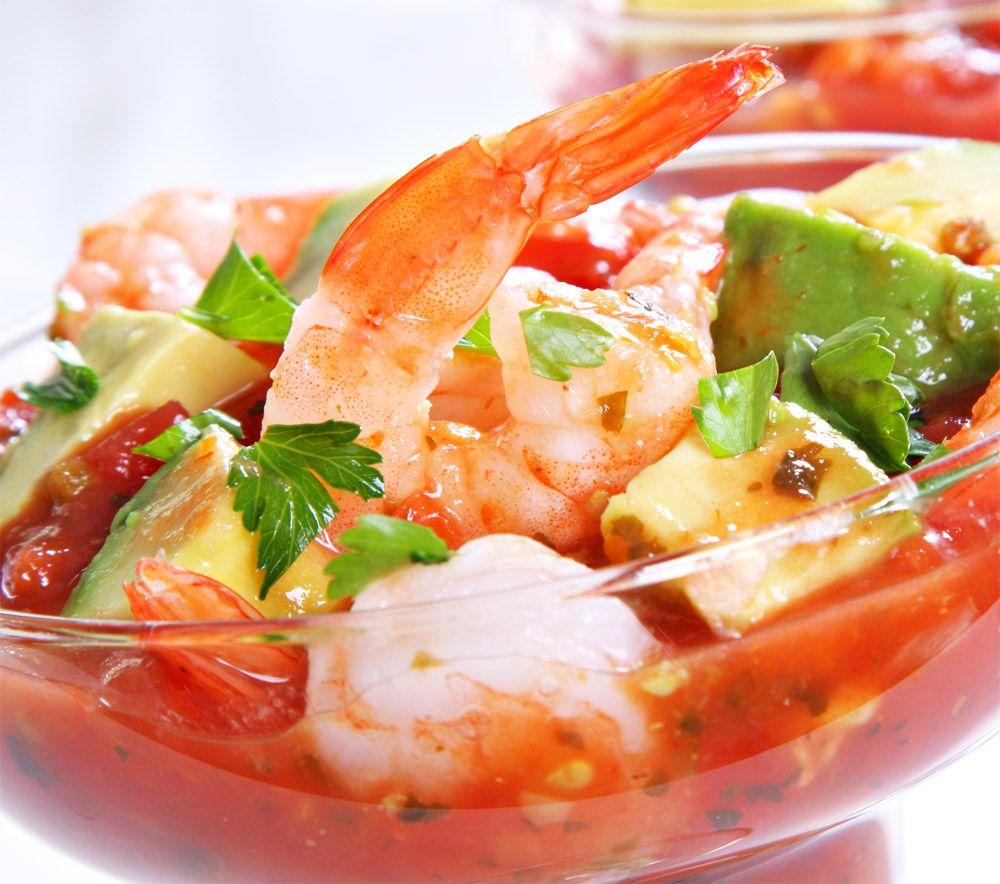 Receta de coctel de camarones la m s compartida ya no busques m s mexicans food and mexican - Coctel de marisco ingredientes ...