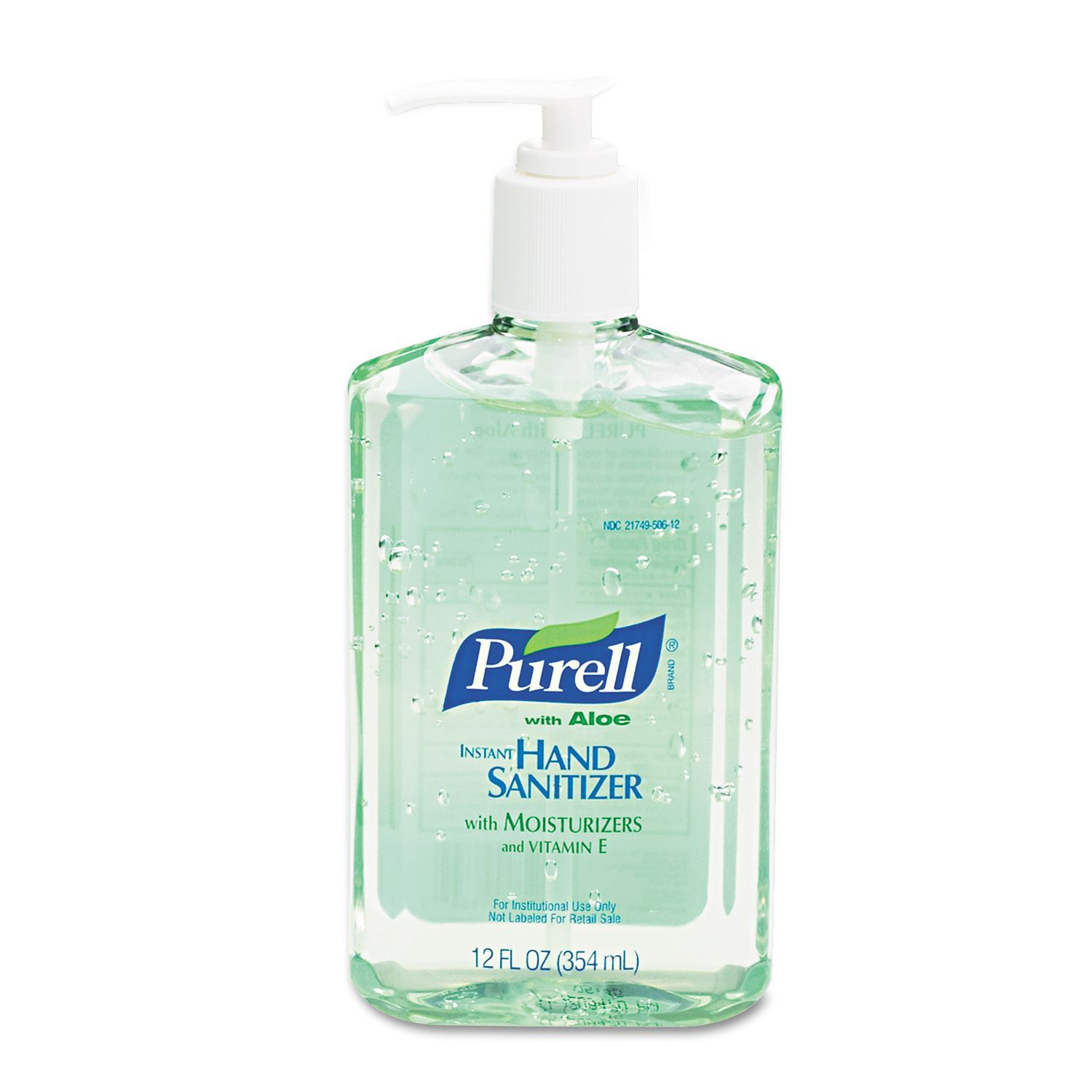 Purell 12 Oz Instant Hand Sanitizer W Aloe Pack Of 3 Clear In
