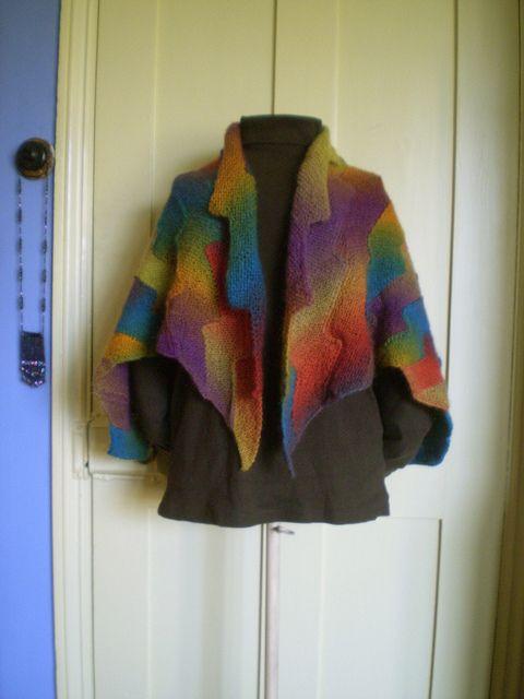 Lightning Shawl-free pattern download | shawl | Pinterest | Tücher ...