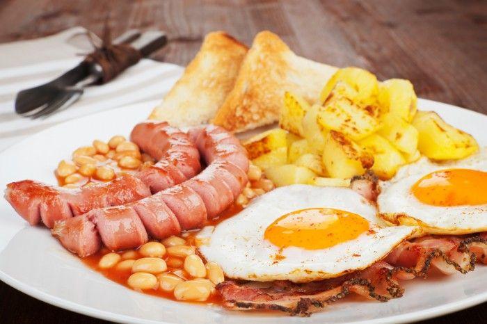 fat breakfast