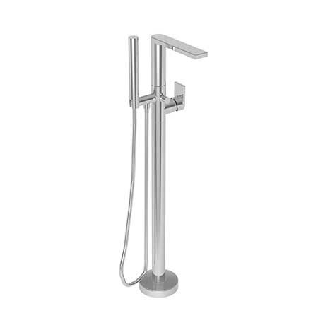 Skylar Exposed Tub And Hand Shower Set Free Standing 2560 4261 Newport Brass Shower Set Clawfoot Tub Faucet Wall Mount Tub Faucet