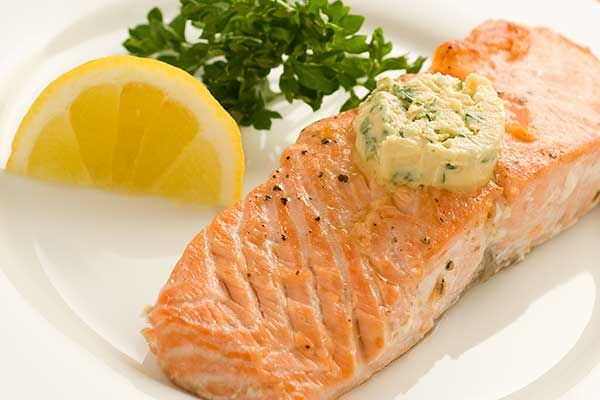 Grilled Salmon With Mustard Butter Recipe | MyGourmetConnection®