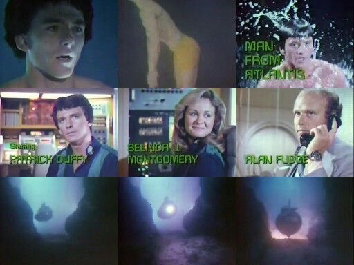 Man From Atlantis (1977-1978) with Patrick Duffy, Belinda Montgomery and Anson Downes