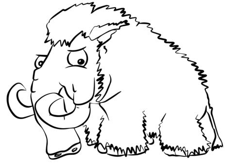 Mammut Ausmalbilder Ausmalbilder Ausmalen Bilder