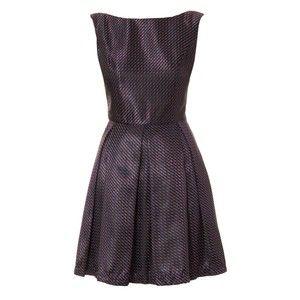 Natasha Geo Dress Navy Blue, $58, now featured on Fab.